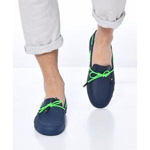 "NWT Waterproof Loafers - Navy ""Catamara Fluo"""